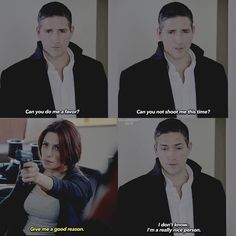 Shaw meets Reese: Person of Interest