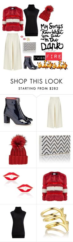 """""""Be careful making wishes in the dark"""" by obsessedaboutstyle ❤ liked on Polyvore featuring Camilla Elphick, Temperley London, Inverni, Nathalie Trad, Aamaya by priyanka, AINEA, 3.1 Phillip Lim and Smith/Grey"""