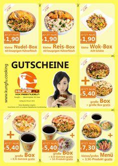 #KungFu's #Gutscheinaktion im Juni 2015 — KungFu - Wok | Reis | Nudeln