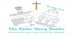 Free The Easter Story Reader and Printable Set for PreK-2nd Grade