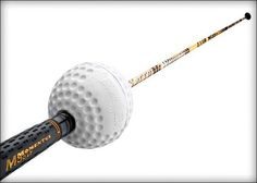 """Add Serious Yards with the Momentus """"Swing Whoosh"""" - The """"Swing Whoosh is a training aid claiming to """"Increase your club head speed 7 to 10 MPH instantly."""" AND they claim to do it in just 6 swings. That's a pretty big claim, don't you think? Nike Golf Clubs, Golf Swing Speed, Swing Trainer, Deep Squat, Golf Exercises, Speed Training, Marathon Runners, Golf Tips, At Home Workouts"""