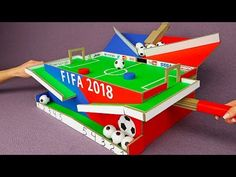 How to Build Amazing Football Table Game for 2 Players - art for kids - How to Make Marble Labyrinth Game Drawing For Kids, Art For Kids, Robotics Projects, Game Development Company, Two Player Games, Everyday Hacks, How To Make Toys, Diy Games, Cardboard Crafts