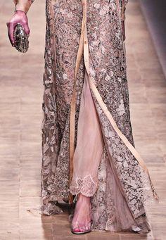 Valentino Pret-a-Porter Spring-Summer 2013, Abaya, bisht, kaftan, caftan, jalabiya, Muslim Dress, glamourous middle eastern attire