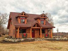 011 Small Log Cabin Homes Ideas