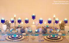 Gorgeous #Hanukkah Table