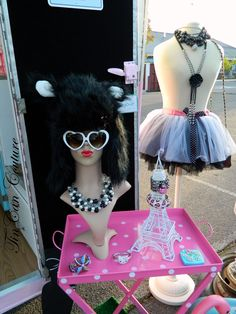 We sell the Animal hats & Heart shaped sunglasses. TinCan Couture Mobile Boutique  http://www.tincancouture.com/