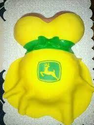 john deere baby belly shower cake - Google Search