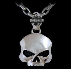 Harley-Davidson Jewelry by Thierry Martino - handmade in silver.