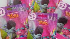 Пакетики ТРОЛЛИ~TROLLS~**СЕРИЯ 2**.Распаковка!!!