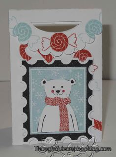 Thoughtful Scrapbooking: Home for the Holidays Stamp of the Month Blog Hop #ArtPhilosophy #Artiste