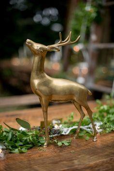 Whimsical Woodland Inspired Centerpiece | Kathy Thomas Photography