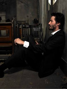 Keanu Reeves I want to sit right next to him