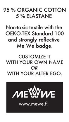 About Me We Beanie #oekotex #organic #MeWePipo