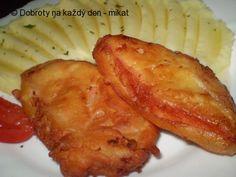 Smažený gothaj v těstíčku, bramborová kaše - Naše Dobroty na každý den