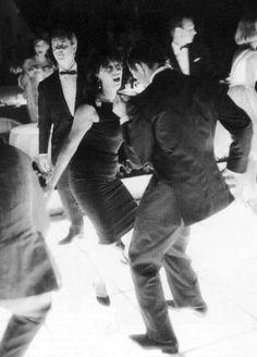 Anna Magnani and Pier Paolo Pasolini in Venice, 1962.