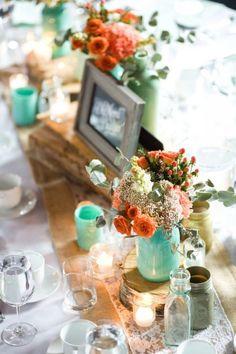 45 Awesome Colorful Wedding Table Settings | Weddingomania