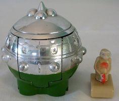 1982 LJN Toys ET The Extra Terrestrial Spaceship Launcher Toy #LJNToys