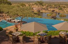 In the heart of the world-famous wildlife sanctuary, Serengeti National Park, in Tanzania,