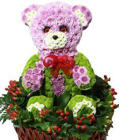 Цветы,Игрушки из живых цветов,