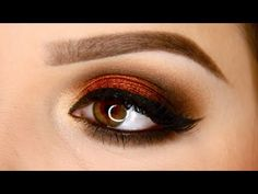Copper Smokey Eye| MakeupGeek Foiled Shadows--this is a gorgeous look! need to get my hands on some foiled shadows though