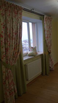 Штори для спальні в стилі прованс #Ваш_Інтерєр #штори #спальня