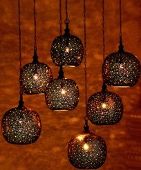 Moroccan pendant lights for my dream dining room