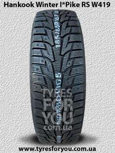Зимняя шина Hankook Winter I*Pike RS W419 для суровых зимних условий