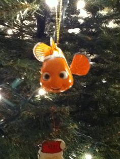 We have many Disney ornaments.