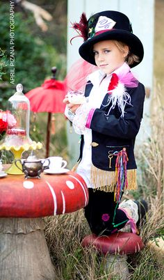 Mad Hatter Garden Tea Party