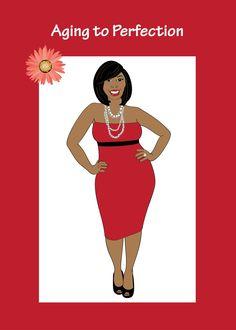 Happy birthday pinterest african american birthday cards happy birthday card for women afrocentric card african american cards original design by isidra sabio m4hsunfo