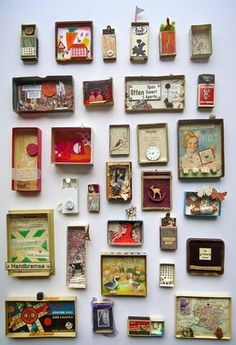 Best Shadow Box Ideas You Did Not Know About military shadow box ideas Shadow box ideas (memory box ideas) Tags: Shadow Box Ideas diy, Shadow Box Ideas baby, Shadow Box Ideas memorial, military Shadow Box Kunst, Shadow Box Art, Matchbox Crafts, Matchbox Art, Altered Tins, Altered Art, Diy And Crafts, Arts And Crafts, Paper Crafts
