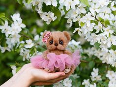 Artist collectible Teddy bear Mari (OOAK) by TEDDYROOM on Etsy