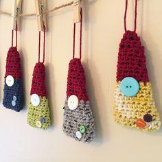 Gnome Christmas ornaments....