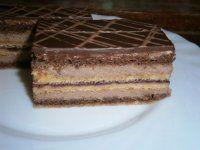 Pralinkové rezy Czech Recipes, Russian Recipes, Ethnic Recipes, Czech Desserts, Pavlova, International Recipes, Nutella, Baked Goods, Sweet Recipes