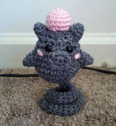 Pokemon Spoink Amigurumi (crochet)