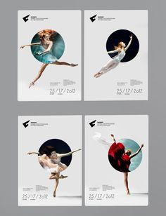 Dansem Dance Festival Editorials and Brand Identity Design |