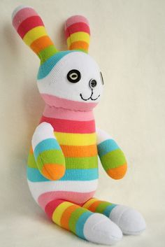 Handmade stuffed animal toys Bunny