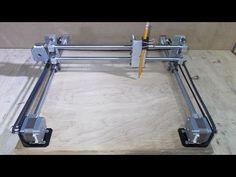 Homemade Mini Laser Engraving Cutter Printer USB Machine DIY Axis Slide...