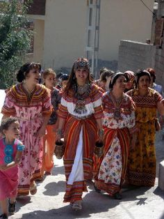Femmes Berbères de Kabylie