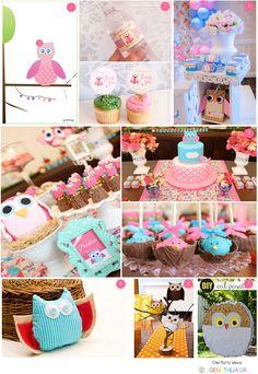 Amazing owl party ideas!