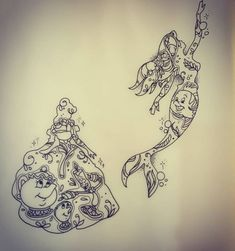 Tatouages Disney princesses