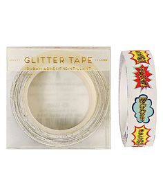 Look at this Bang Boom Pow Glitter Tape - Set of Two on #zulily today!