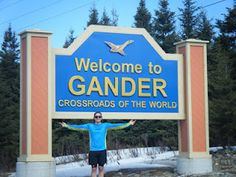 Barry Hicks of the Runway Running Club joined Troy for - Gander, NL.wonder if I am related to this person.I'm a Hicks born in Gander Brain Injury Awareness, Newfoundland Canada, Running Club, Troy, Growing Up, Runway, Sweet, Places, Cat Walk