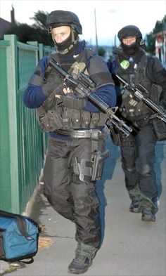 New Zealand Police AOS, Armed Offenders Squad