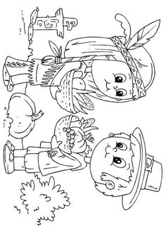 Coloring page native American and pilgrim - coloring picture native American and pilgrim. Free coloring sheets to print and download. Images for schools and education - teaching materials. Img 22997.