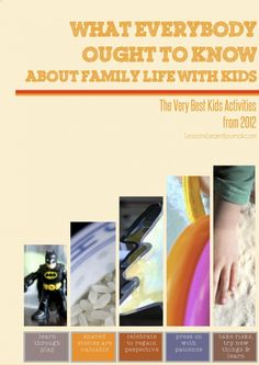@LLJournalAust: What everybody ought to know about family life with kids. The very best kids activities from 2012. #FamilyLife, #KidsActivities, #play