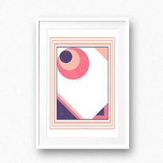 Geomatric wall art Abstract printable Modern print