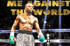 """Floyd Mayweather """"Me Against the World.""""  Really wanted to go a little crazy on dodging and burning to see the impact it would have and also with a couple different type textures."""