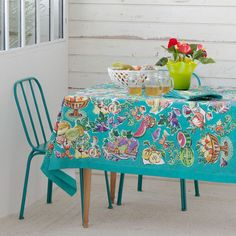 FRUIT PRINT TABLECLOTH AND NAPKIN - Tablecloths & Napkins - Tableware | Zara Home United Kingdom