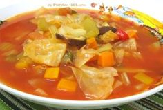 7 Day Diet Cabbage Soup Recipe